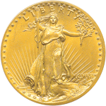 Saint-Gaudens $20 Double Eagle Obverse