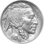 Indian Head 5-cent coin