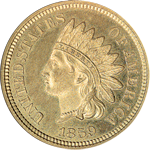 Indian Head Cent Obverse