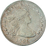 Draped Bust, Small Eagle Dollar Obverse