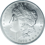 Morgan Dollar Obverse