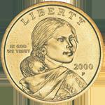 Sacagawea/Native American Dollar Obverse