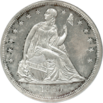 Seated Liberty Dollar Obverse