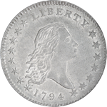 Flowing Hair half dollar history