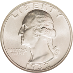 Washington Quarter Dollar Obverse