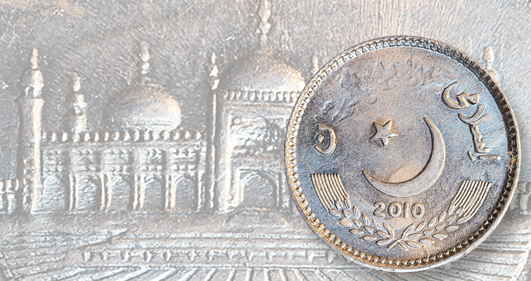 2010 Pakistan 2-rupee coin