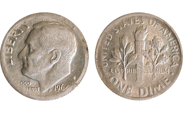 Collectors' Clearinghouse: Legitimate error or altered coin?