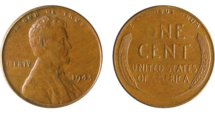 controversial uncertified 1943 Lincoln bronze cent