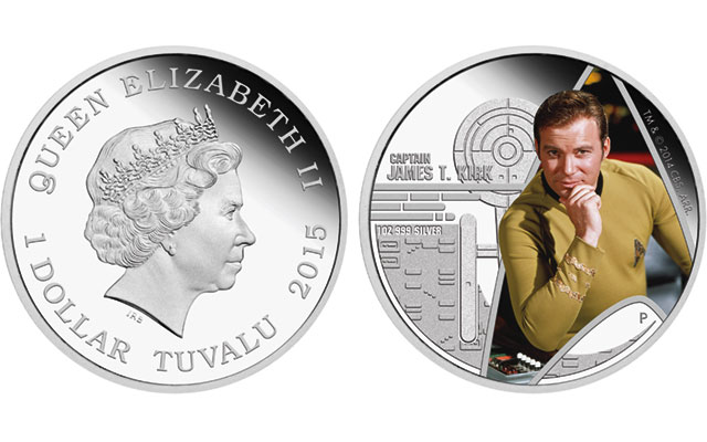 Star Trek's Captain Kirk, USS Enterprise featured on new Perth Mint silver coins