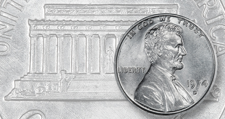 U.S. Mint takes possession of aluminum 1974-D Lincoln cent after ruling