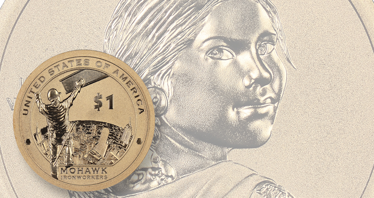 Edge device process differs on Enhanced Uncirculated Native American $1s