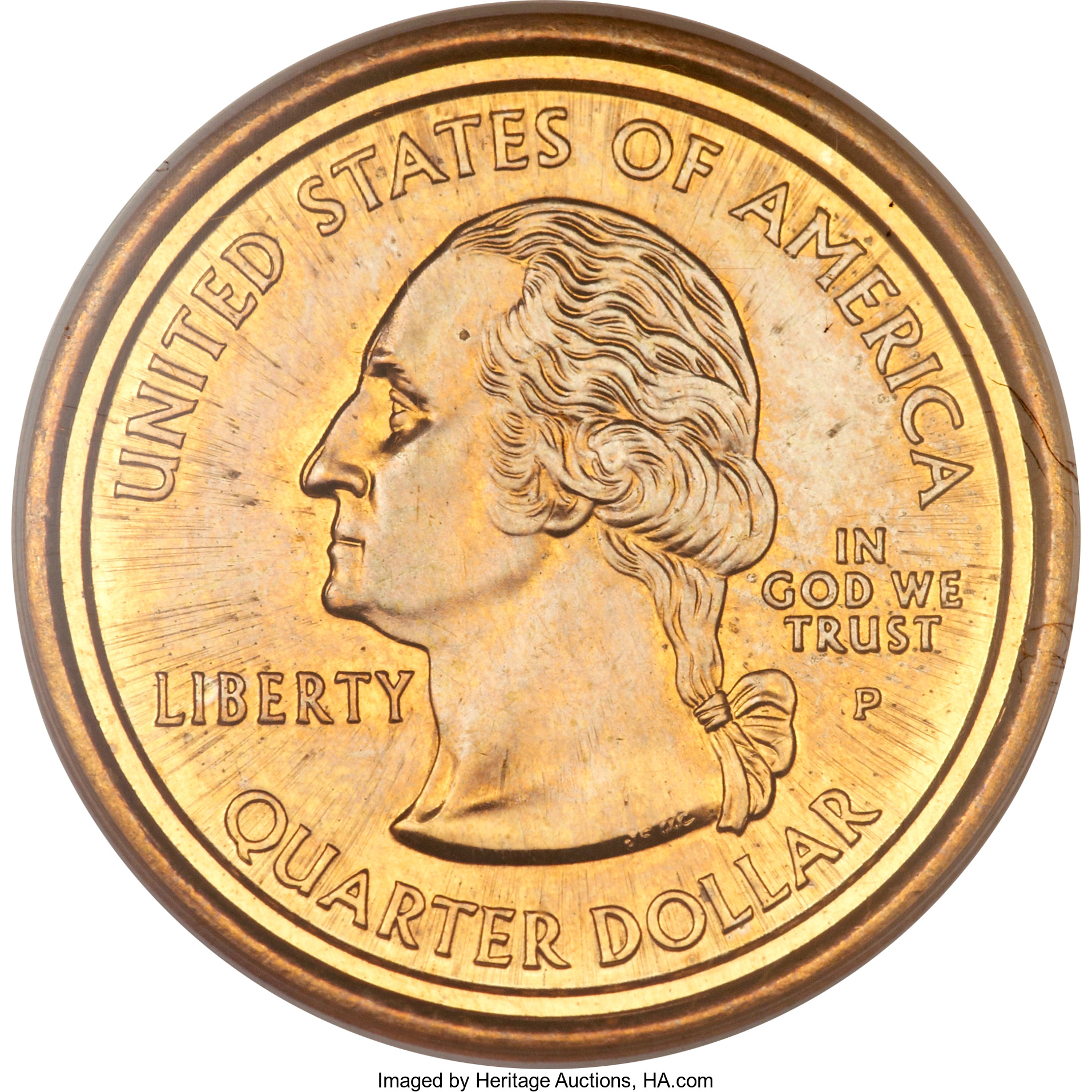 In 2000, collectors were astounded to learn that the Mint had produced coins that muled the obverse of a State quarter dollar with the reverse of a Sacagawea dollar.