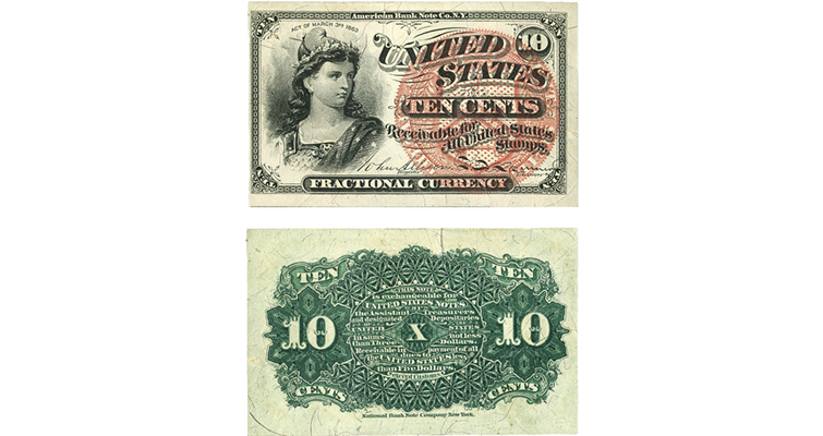 10-cent-fractional-fourth-issue-ha