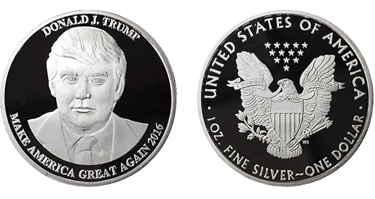 Trump Vs Clinton 2016 Campaign Collectibles Coin World