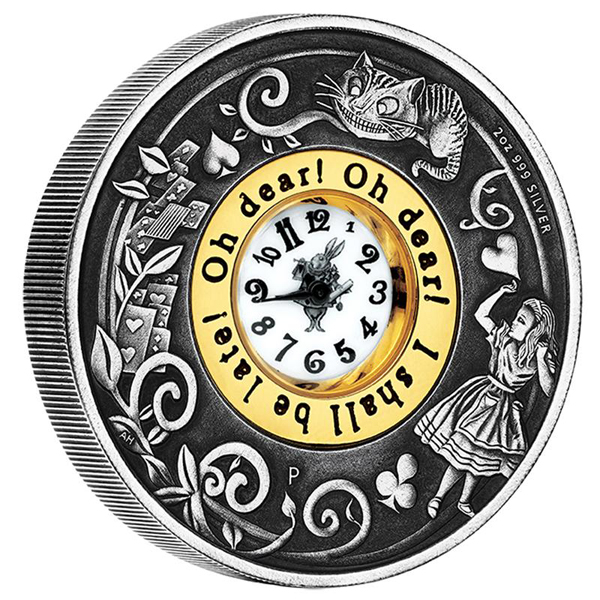 150th-anniversary-alices-adventures-in-wonderland-clock-silver-2oz-coin