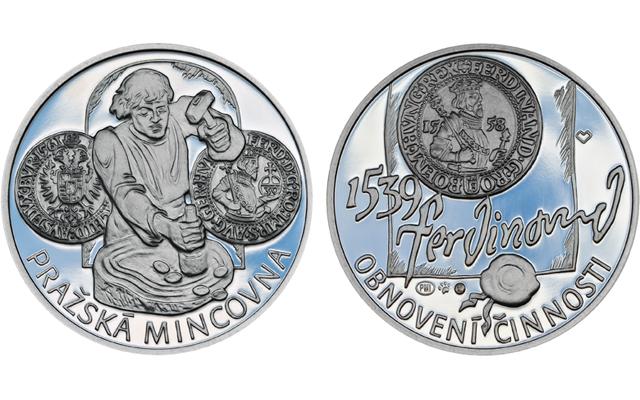 1539-prague-mint-medal-silver
