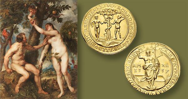 1557-gold-medal-adam-and-eve-auction