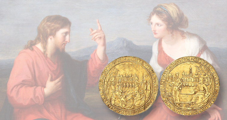 Rare gold 'marriage' medal from Hamburg leads sale