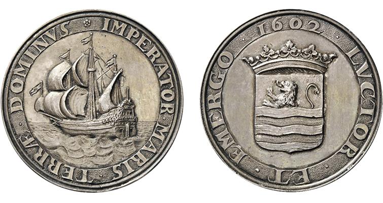 1602-dutch-cast-silver-medal