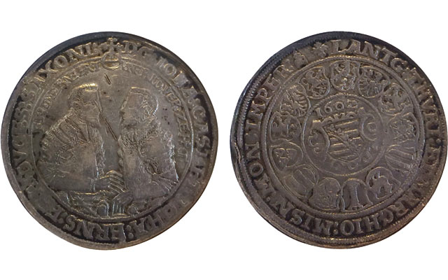 Reader finds rare 1602 silver 2-taler coin from Germany in Ohio estate