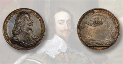 1649 Charles I medal