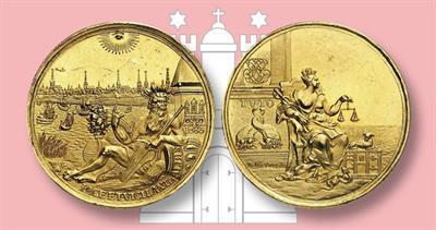 1683 Hamburg gold medal