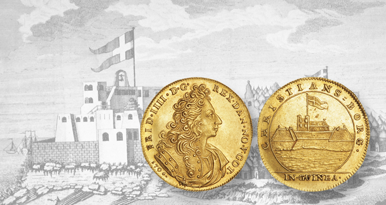 Danish Colonial Gold Coin Highlights May 9 Auction