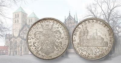 1706 Sede Vacante silver reichstaler