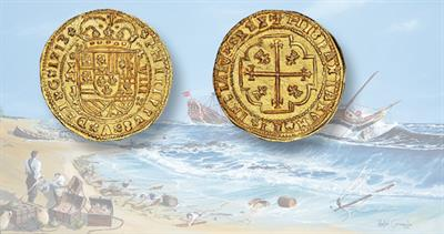 1713 Gold Royal 8 escudos