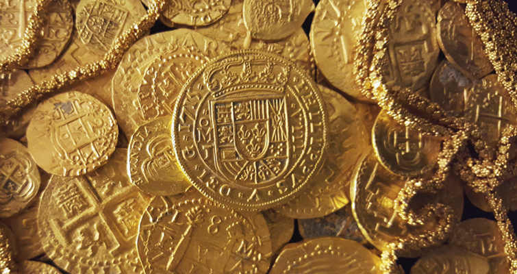 Recovered 1715 Treasure Fleet gold value pegged at $1 million