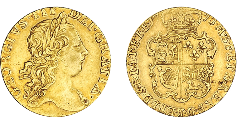 1773 gold guinea Stacks merged