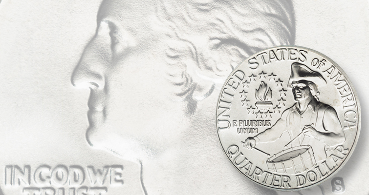 Bicentennial quarter dollars continue to circulate: Making Moderns