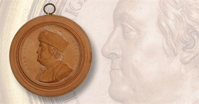 Benjamin Franklin medals from the 18th century