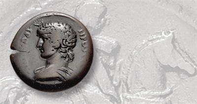 bronze drachm