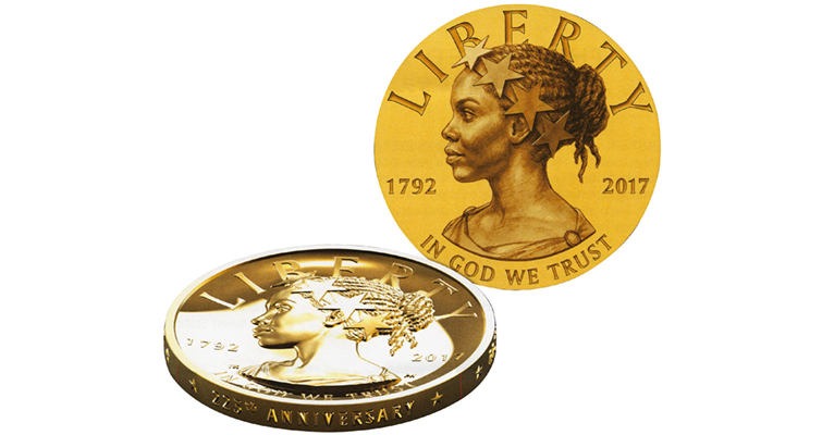 Mint Might Make Multiple 2017 American Liberty Medals