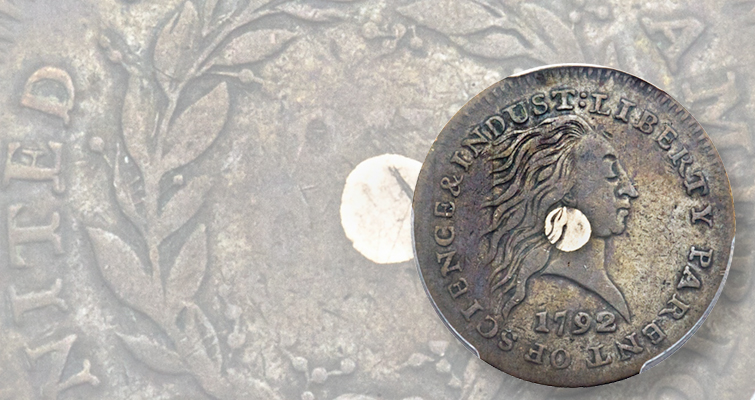 1792 cent patterns star at Heritage's Platinum Night auction with six-figure prices