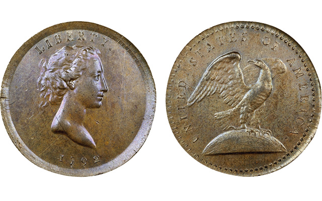 Lauder advises collectors to be bold with their decisions. One must be bold if he or she hopes to acquire a rarity from Heritage's Jan. 7 auction of the Partrick Collection, such as this 1792 pattern quarter dollar.