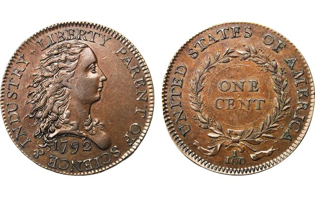 1792 Birch cent brings $1,175,000 at Stack's Bowers' Kendall Foundation sale