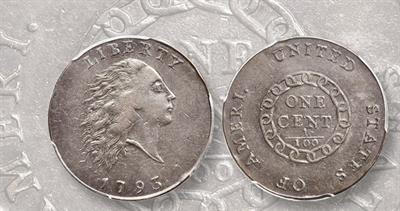 1793 chain large cent