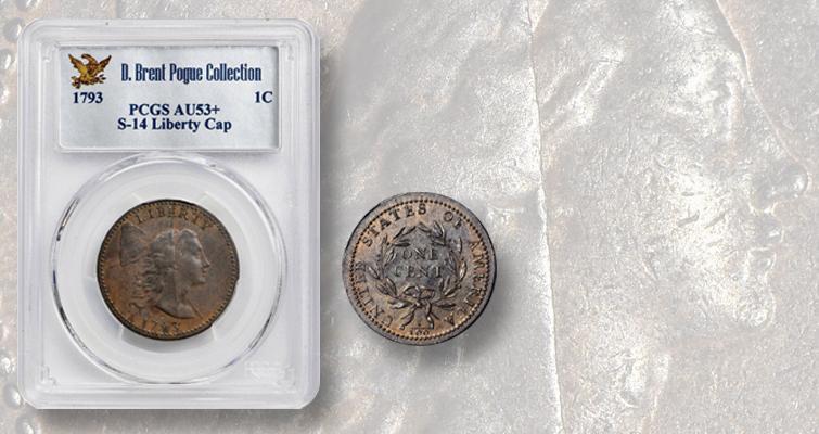1793 Liberty Cap cent