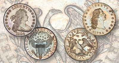 Early Mint State dollars