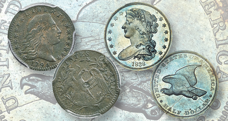 Pattern coins