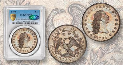 1794 Flowing Hair dollar