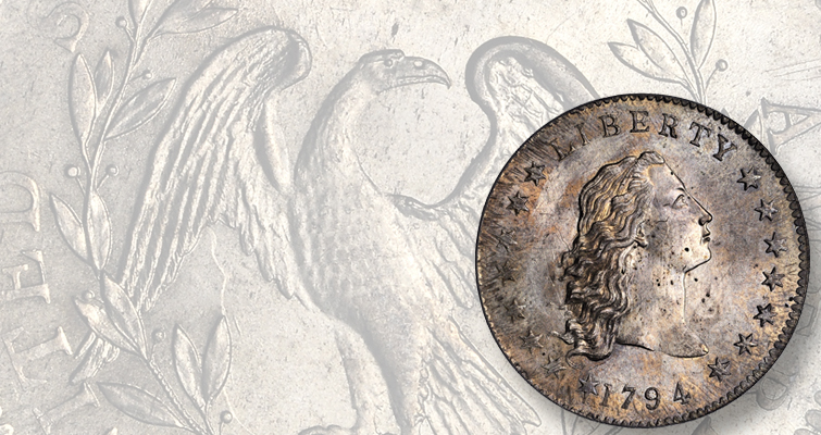 St. Oswald 1794 Flowing Hair dollar available again after 29 years