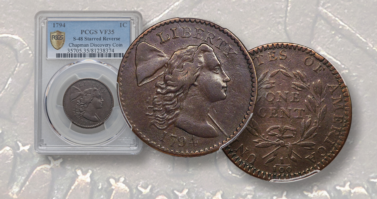 1794 Flowing Hair Large cent