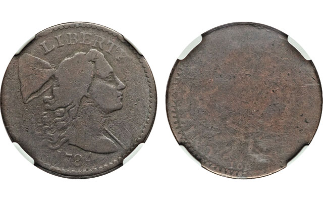 A newly discovered 1794 Starred Reverse cent: Fascinating coin brings $28,200 at Heritage's 2015 FUN auction