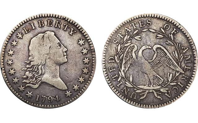 1794 Flowing Hair half dollar realizes price tag north of $760,000 at Pogue auction