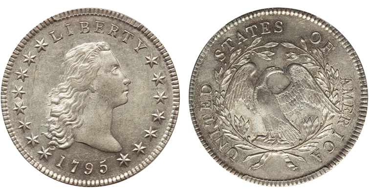 1795 Draped Bust dollar