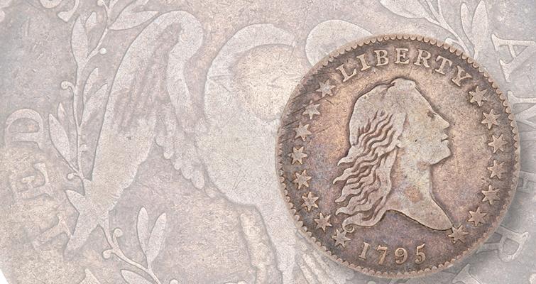 1795 Flowing Hair die variety