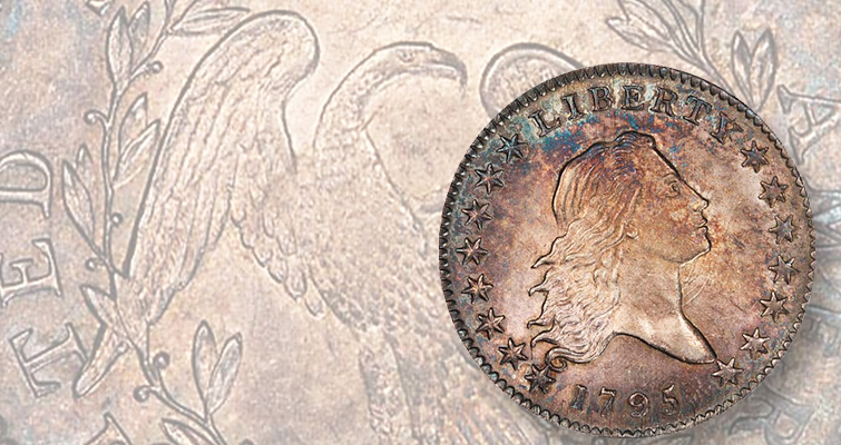 Why this 1795 Flowing Hair half dollar topped Legend auction at $176,250